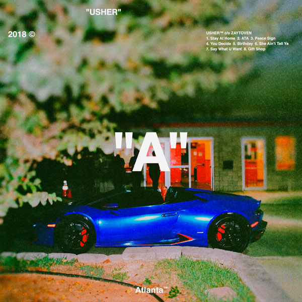 Usher and Zaytoven Drop Surprise Album,