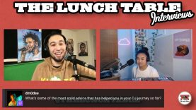 Sharing DJ Advice with 17-Year-Old DJ Miamor | The Lunch Table with Nico Blitz