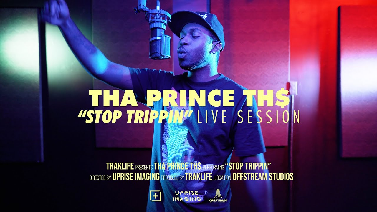 Tha Prince TH$ - Stop Trippin | Traklife Live Sessions [ Rapper - Long Beach, CA. ]