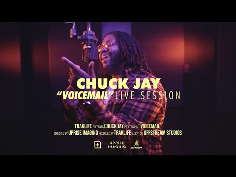 Chuck Jay – Voicemail | Traklife Live Session [R&B Vocalist – Inland Empire, CA.]