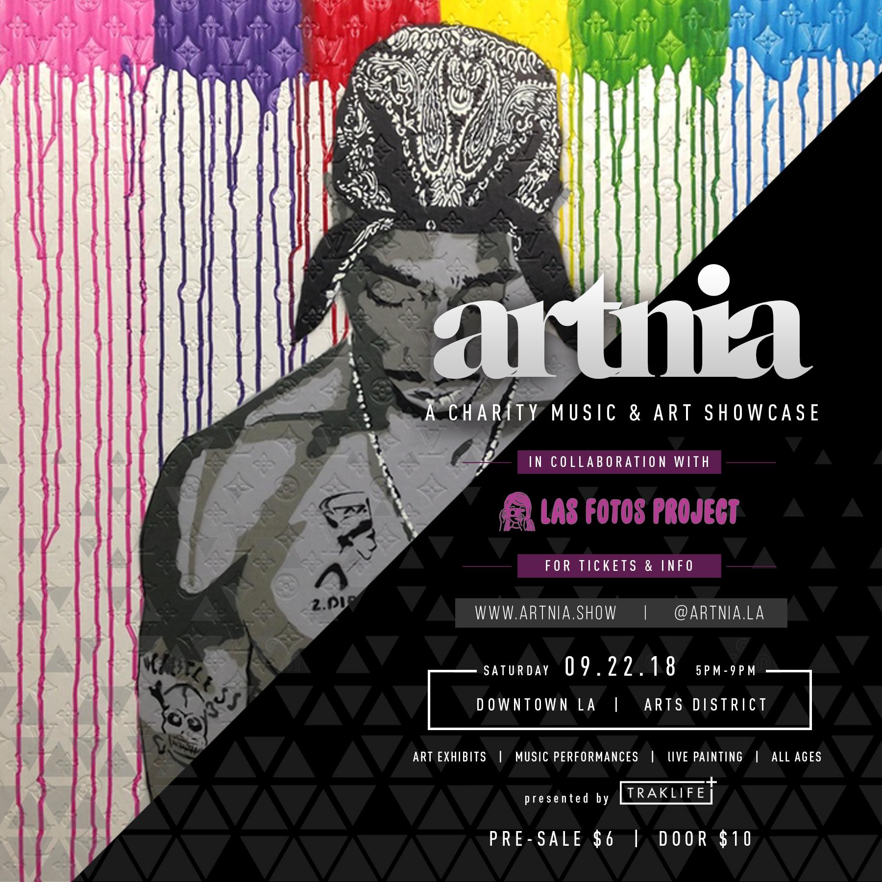 ARTNIA: A Charity Music & Art Showcase