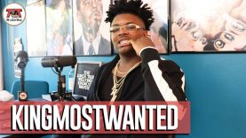 """KingMostWanted talks Making """"In My City"""" While Locked Up, Working w Mike Sherm, 8K 