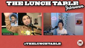Discussion About Constant Pressure & Being Content | DJ Miamor Interview on The Lunch Table