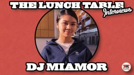 DJ MIAMOR Interview | The Lunch Table with Nico Blitz
