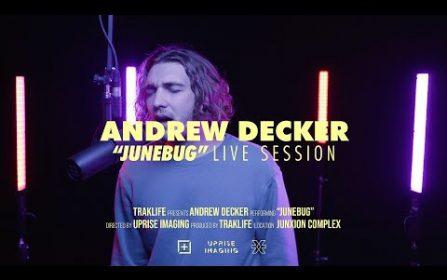 Andrew Decker – Junebug   Traklife Live Sessions [Indie Pop Artist – Las Vegas, NV]