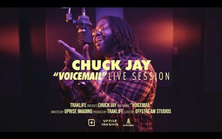 Chuck Jay – Voicemail   Traklife Live Session [R&B Vocalist – Inland Empire, CA.]